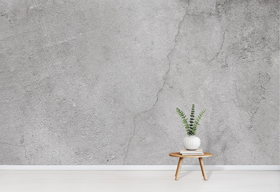 Cracked Concrete Wallpaper by Wallpapered