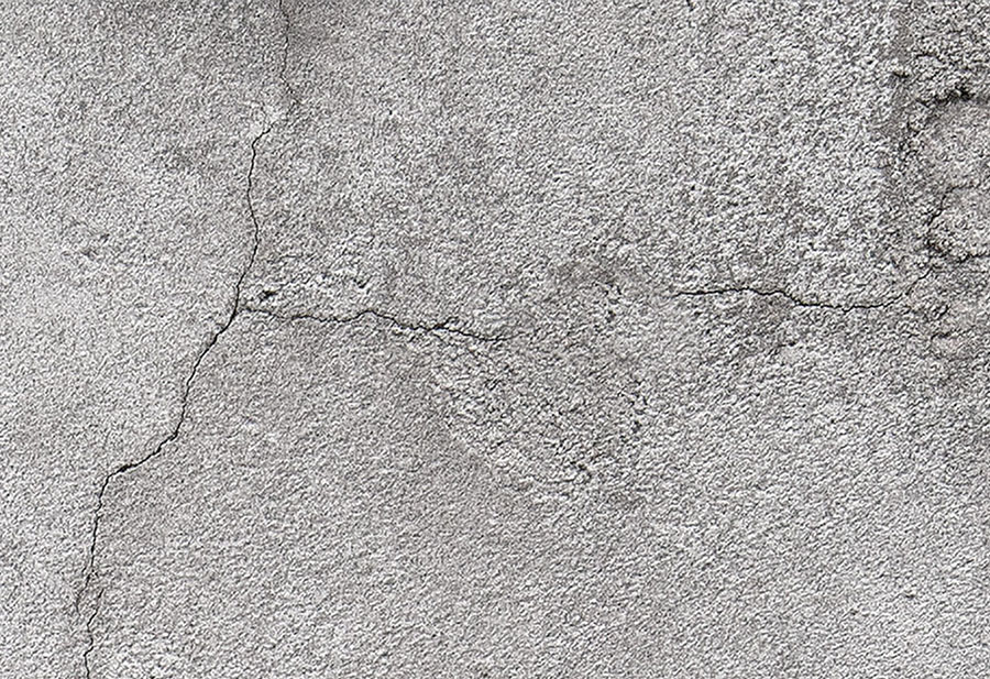 Concrete Wall with cracks wallpaper design
