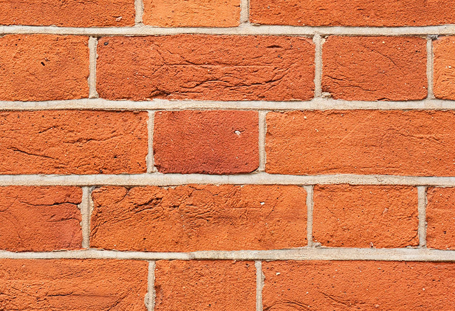 Classic Red Brick Wall Effect wall mural