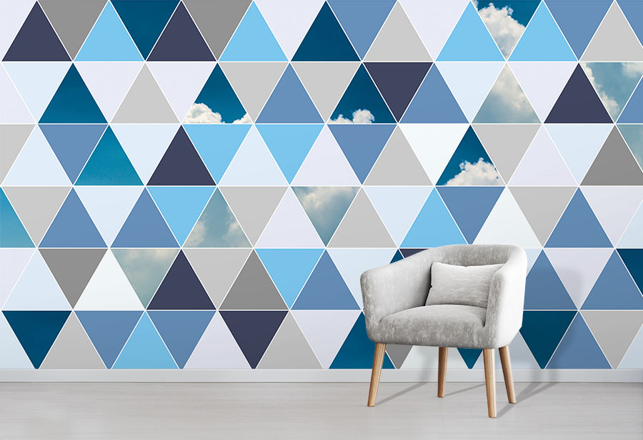 Triangle Sky Wallpaper Mural