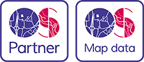 OS Ordnance Survey Partner Logo