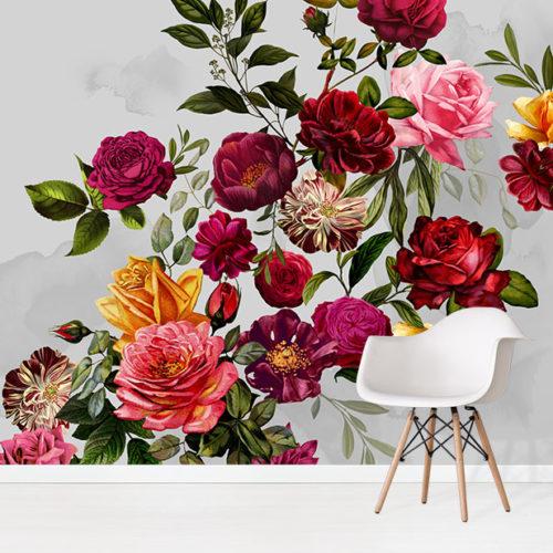 Velvet Roses Wallpaper