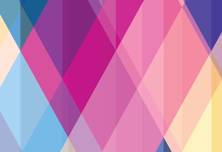 Geometric Carnival Wallpaper