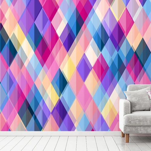 Geometric Carnival Wallpaper
