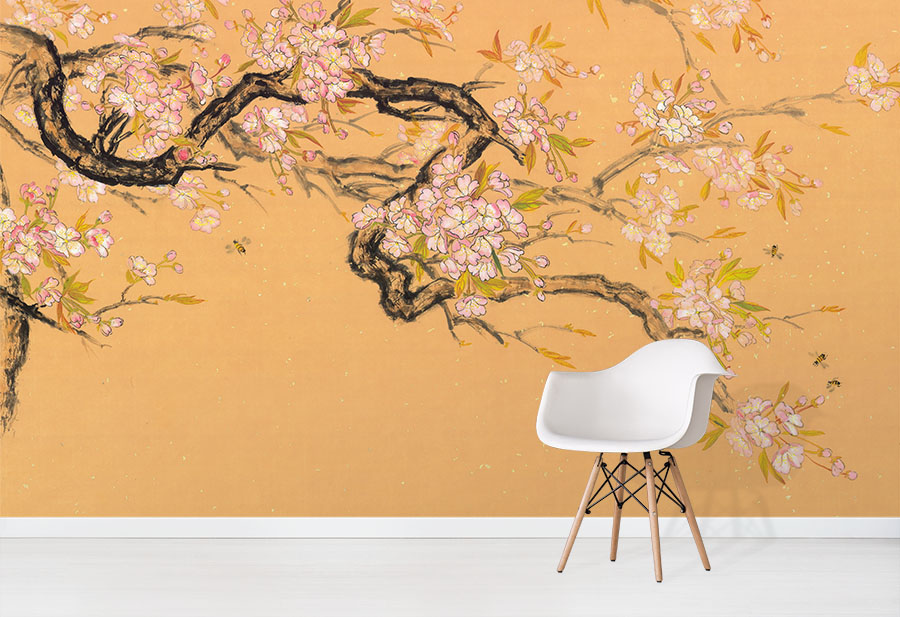 Spring Blossoms - Nikole Lowe Wallpaper Collection