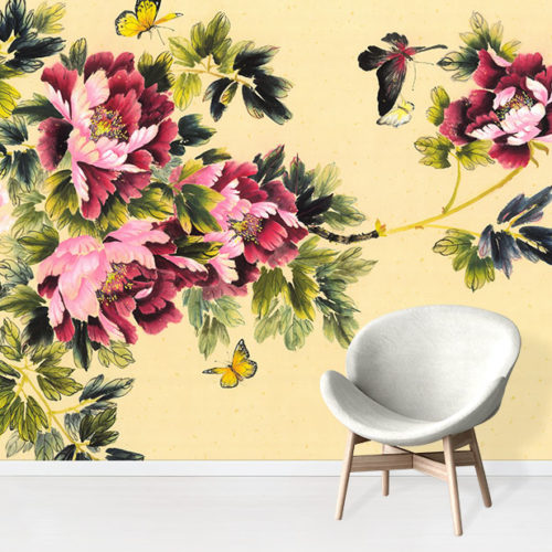 Peony Scent of Summer - Nikole Lowe Wallpaper Collection